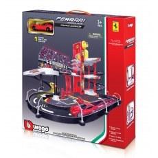 BBURAGO FERRARI RACING GARAGE 18-30197