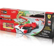 BBURAGO FERRARI PLAYMAT SET 18-31237