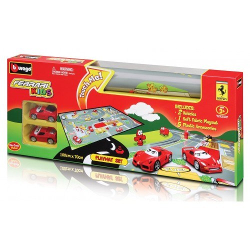 BBURAGO FERRARI KIDS MATA DO ZABAWY 18-31279