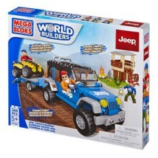 MEGA BLOKS KLOCKI JEEP® FOREST EXPEDITION 97806