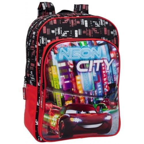 PLECAK SZKOLNY CARS NEON CITY 9672301