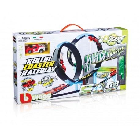 BBURAGO GO GEARS ROLLIN COASTER RACEWAY 18-30285