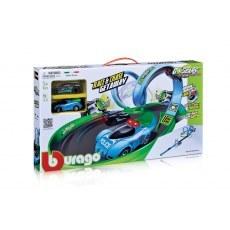 BBURAGO GO GEARS RACE & CHASE GETAWAY 18-30349