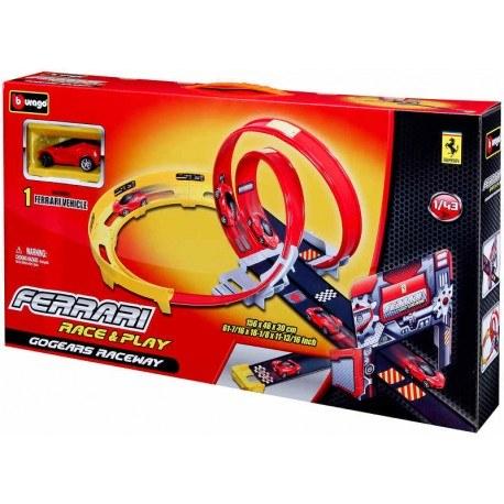 BBURAGO FERRARI GO GEARS RACEWAY 18-31301