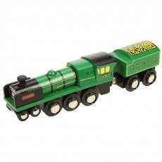 LOKOMOTYWA TAJFUN HERITAGE COLLECTION BIGJIGS RAIL BJT448