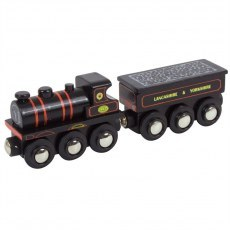 LOKOMOTYWA KWVR 957 HERITAGE COLLECTION BIGJIGS RAIL BJT456
