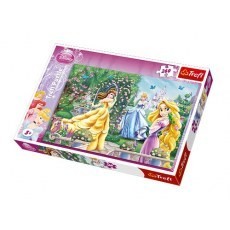 TREFL PUZZLE 260 ELEMENTOW PRINCESS SPACER PRZED BALEM
