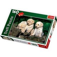 TREFL PUZZLE 160 ELEMENTOW MALE LABRADORY
