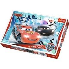 TREFL PUZZLE 100 ELEMENTÓW DISNEY CARS LODOWA PRZYGODA 16290