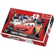 TREFL PUZZLE 60 ELEMENTOW DISNEY CARS TOKIO