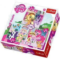 TREFL PUZZLE 3W1 MY LITTLE PONY