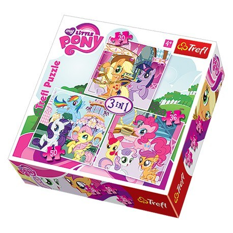 TREFL PUZZLE 3W1 MY LITTLE PONY