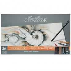 CRETACOLOR ZESTAW DO RYSOWANIA TEACHERS' CHOISE ADVANCED DRAWING SET
