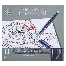 CRETACOLOR CALLIGRAPHY HANDWRITING SET ZESTAW DO KALIGRAFII