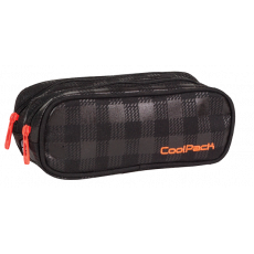 PIÓRNIK SASZETKA COOLPACK CLEVER BLACK & ORANGE (426)