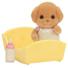 SYLVANIAN FAMILIES TOY POODLE BABY 5260