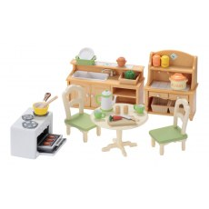 SYLVANIAN FAMILIES COUNTRY KITCHEN SET 5033