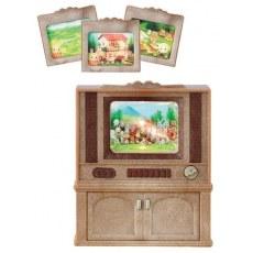 SYLVANIAN FAMILIES DELUXE TV SET 4264
