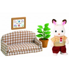 SYLVANIAN FAMILIES CHOCOLATE RABBIT FATHER SET 5013