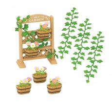 SYLVANIAN FAMILIES GARDEN DECORATION SET 5224