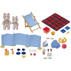 SYLVANIAN FAMILIES DAY AT THE SEASIDE SET 4870