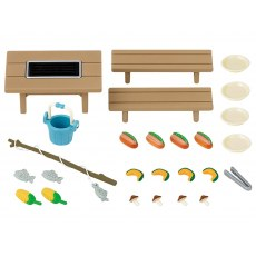 SYLVANIAN FAMILIES FAMILY BARBECUE SET 5091
