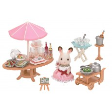 SYLVANIAN FAMILIES SEASIDE BIRTHDAY PARTY 5207