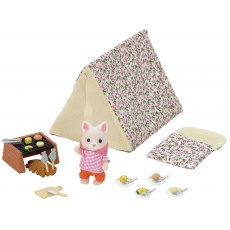 SYLVANIAN FAMILIES SEASIDE CAMPING SET 5209