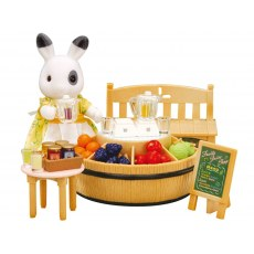 SYLVANIAN FAMILIES JUICE BAR & FIGURE 4478