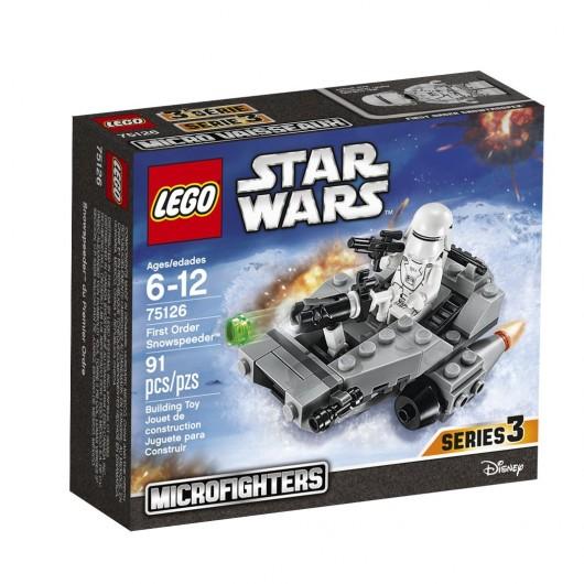 KLOCKI LEGO STAR WARS SKUTER ŚNIEŻNY NAJWYŻSZEGO PORZĄDKU 75126