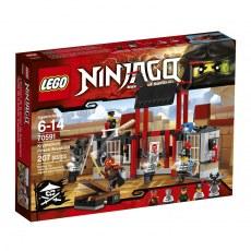 KLOCKI LEGO NINJAGO UCIECZKA Z WIĘZIENIA KRYPTARIUM 70591