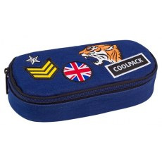 PIORNIK USZTYWNIANY COOLPACK CAMPUS BADGES BLUE NAVY (A412)