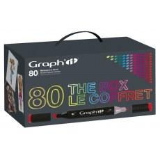 GRAPH'IT MARKER ZESTAW 80 PROMARKERÓW THE BOX GI00800