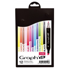 GRAPH'IT MARKER ZESTAW 12 PROMARKEROW CLASSIC COLORS GI00120