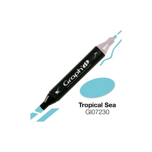 GRAPH'IT MARKER ALKOHOLOWY PROMARKER 7230 TROPICAL SEA