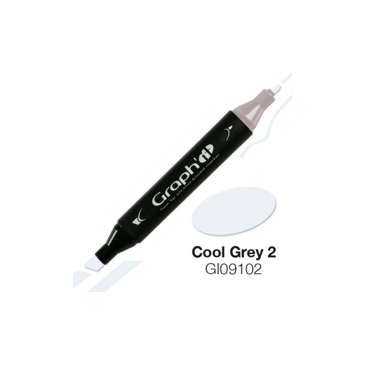 GRAPH'IT MARKER ALKOHOLOWY PROMARKER 9102 COOL GREY 2