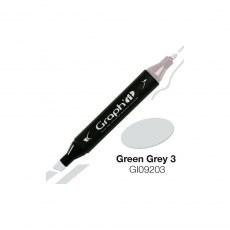 GRAPH'IT MARKER ALKOHOLOWY PROMARKER 9203 GREEN GREY 3