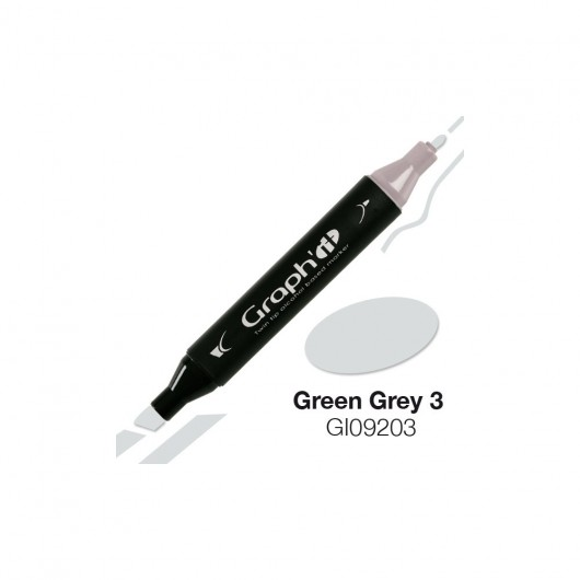 GRAPH'IT MARKER ALKOHOLOWY PROMARKER 9203 GREEN GREY 3