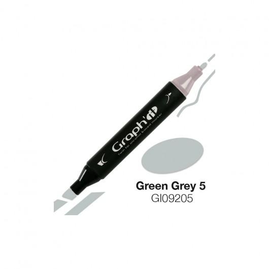 GRAPH'IT MARKER ALKOHOLOWY PROMARKER 9205 GREEN GREY 5