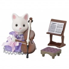 Sylvanian Families Town Series Cello Concert Set 6010