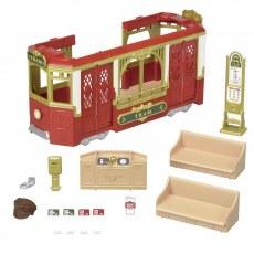 Sylvanian Families Town Series Ride Along Tram 6007