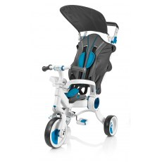 TROJKOLOWY ROWEREK GALILEO STROLLCYCLE 4W1 BLUE