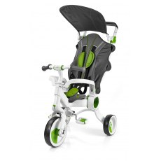 TRÓJKOŁOWY ROWEREK GALILEO4KIDS STROLLCYCLE 4W1 GREEN