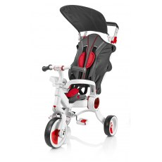TRÓJKOŁOWY ROWEREK GALILEO4KIDS STROLLCYCLE 4W1 RED