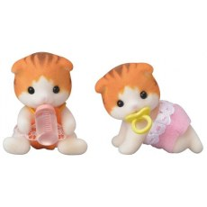 Sylvanian Families Maple Cat Twins 5292