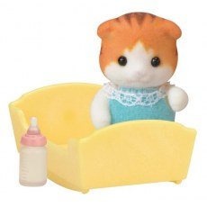 Sylvanian Families Maple Cat Baby 5291