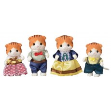 Sylvanian Families Maple Cat Family 5290