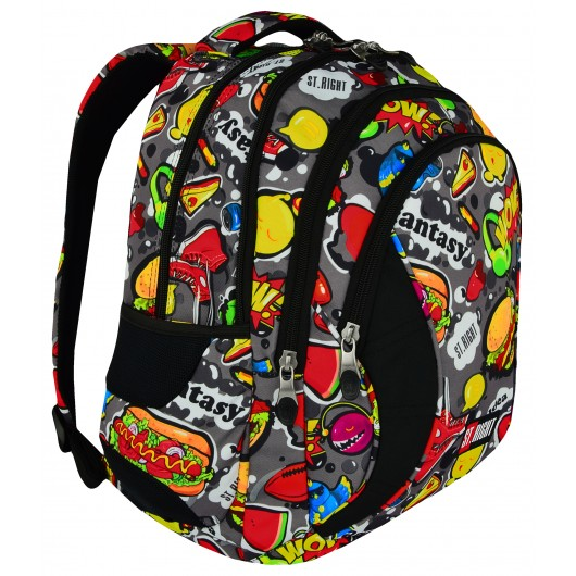 BACKPACK ST.RIGHT TROPICAL STRIPES BP-01