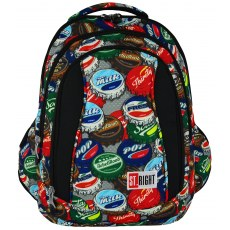 BACKPACK ST.RIGHT BOTTLE CAPS BP-04
