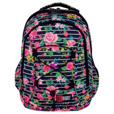BACKPACK ST.RIGHT LIGHT ROSES BP-32